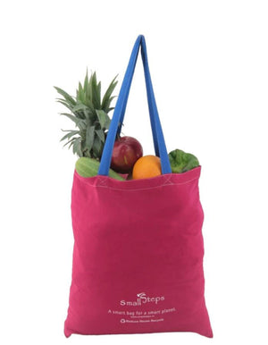 "SmallSteps ""Cozy""  Foldable Bags (set of 4) - COTTON TOTE - Upasana Design Studio"