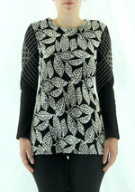 Zala Black - Print Bias Cut