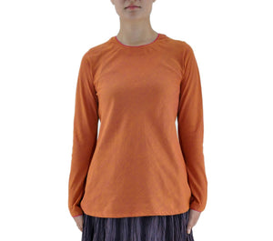 Zala - Orange organic Cotton Top