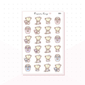 (004) Cleaning Planner Stickers