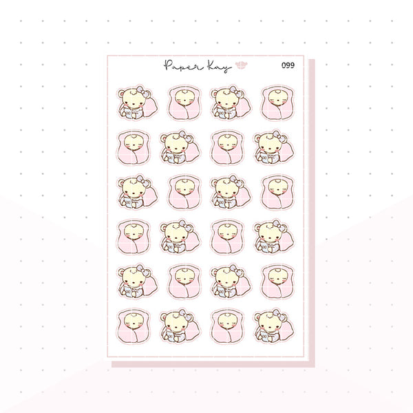 (099) Cosy / Lazy Day Planner Stickers