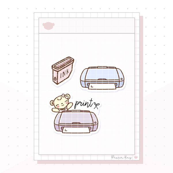 (015) Printer Planner Stickers