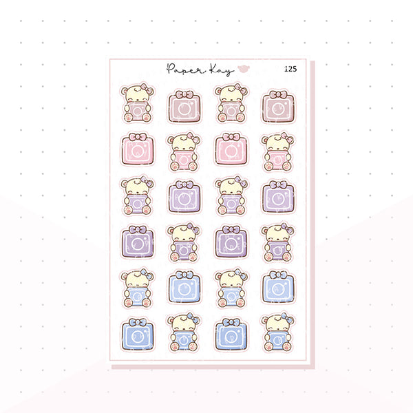 (125) Instagram Reminder Planner Stickers