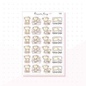 (139) Mother Daughter Quality Time Planner Stickers