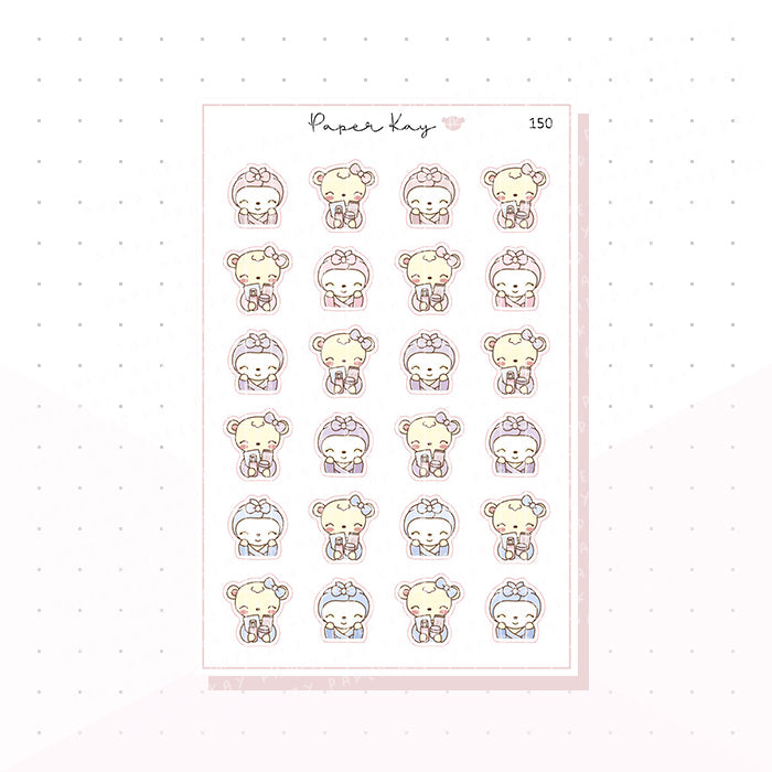 (150) Skincare Planner Stickers