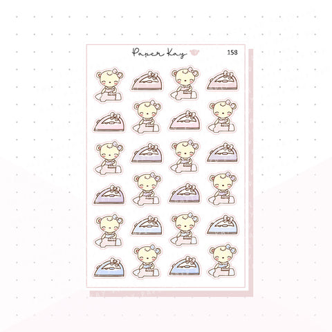 (158) Ironing Planner Stickers