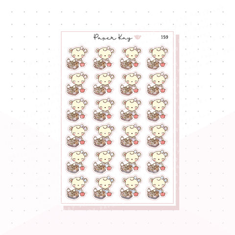 (159) Packing Lunch Planner Stickers