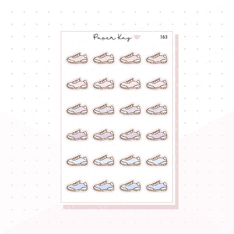 (163) Running Shoes Planner Stickers