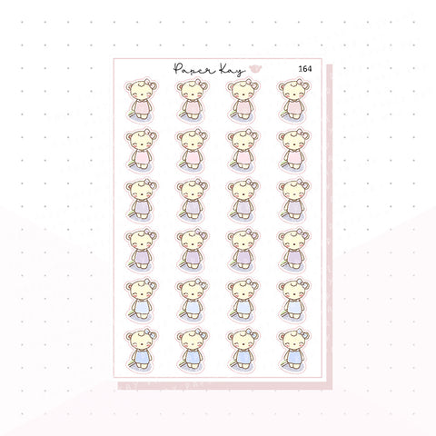 (164) Walk - Planner Stickers