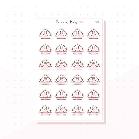 (181) Happy Mail - Planner Bunny - Planner Stickers