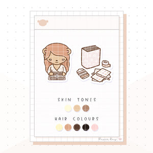 Planner Girl Dolly Planner Stickers