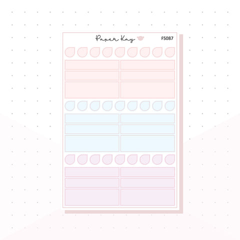 (FS087) Soft Pastels Headers - Functional