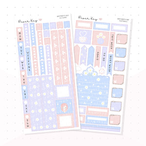 Mother's Day Hobonichi Weeks Kit - Planner Stickers