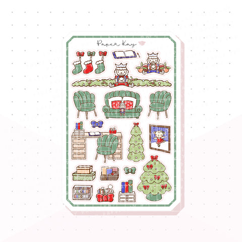 Traditional Nutcracker Bujo Deco Planner Stickers 2