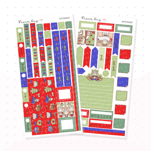 Traditional Nutcracker Hobonichi Weeks Kit - Planner Stickers