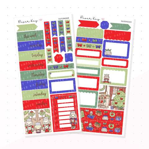 Traditional Nutcracker PP Weeks Kit - Planner Stickers