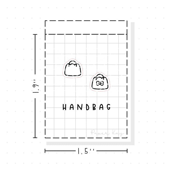 (PM006) Bag - Tiny Minimal Icon Stickers