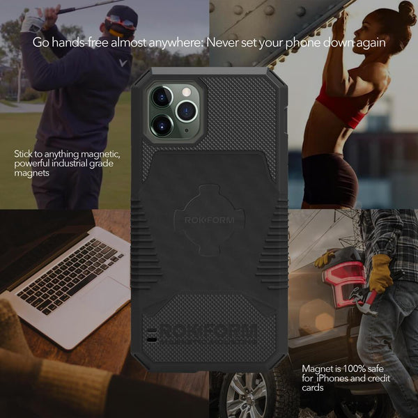 Rugged Case - iPhone 11 Pro Max BLACK