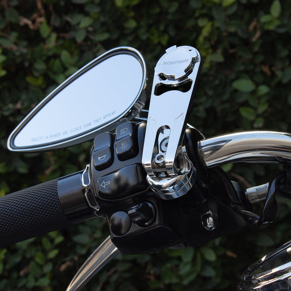 Polished Alu Motorcycle Perch Mount .. Harley Davidson