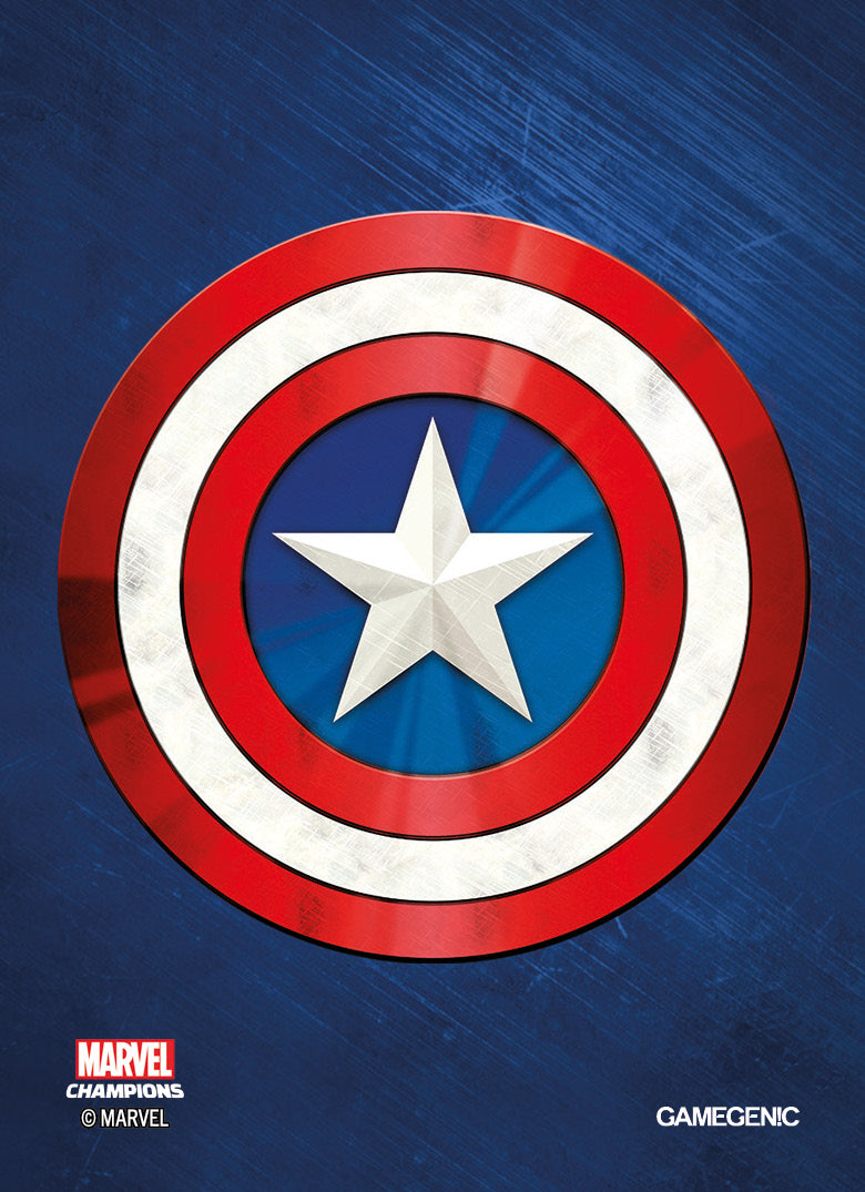 Marvel Champions: Captain America Sleeves