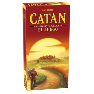 CATAN BASICO EXPANSION 5-6 JUGADORES