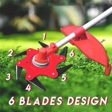 Load image into Gallery viewer, Grass Trimmer Head Cutter Blade