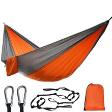 Load image into Gallery viewer, Outdoor Camping Hammock With Tree Straps