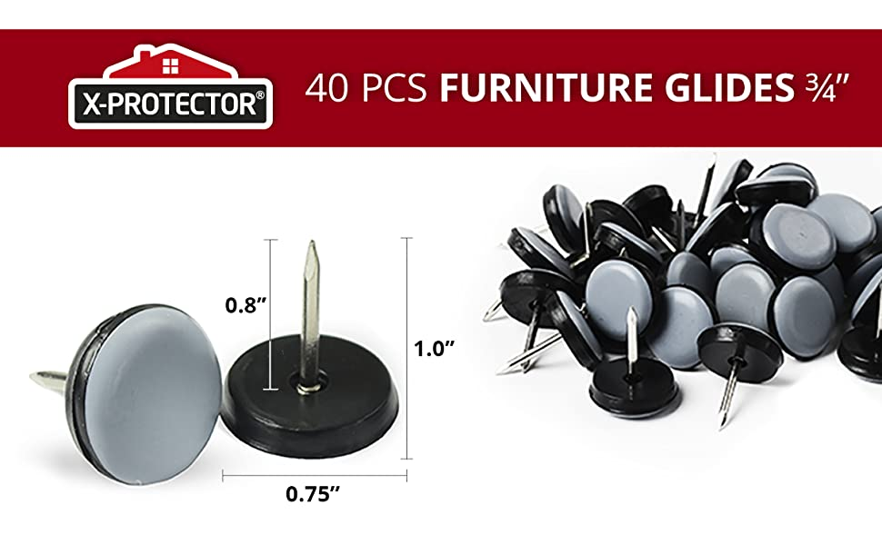 40 furniture glides