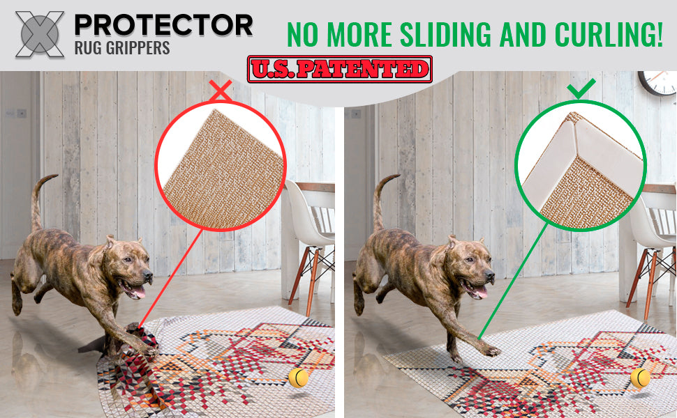 rug grippers no slipping  x-protector