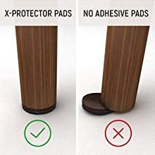 adhesive furniture grippers non slip pads