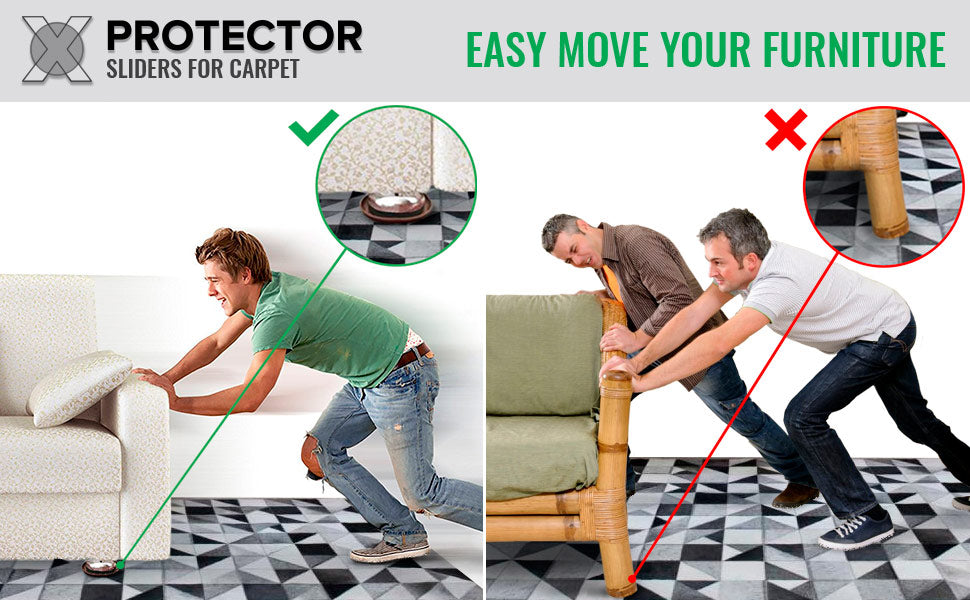 furniture moving pads for carpet x-protector