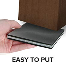 easy to put Non Skid Furniture Floor Protectors