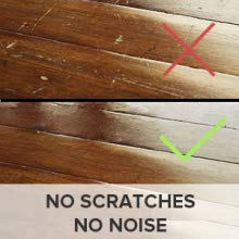 felt furniture pads prevent scratches