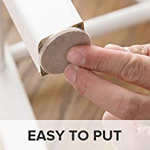 easy to put furniture pads