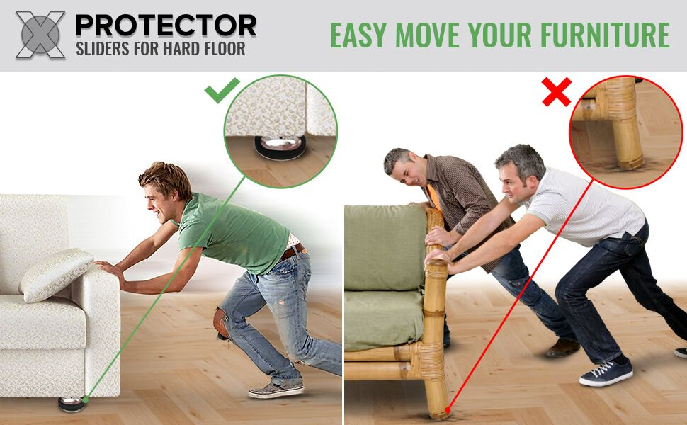 furniture sliders moving furniture x-protector