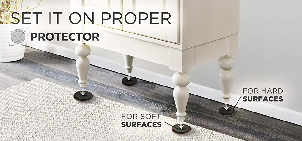 furniture sliders x-protector