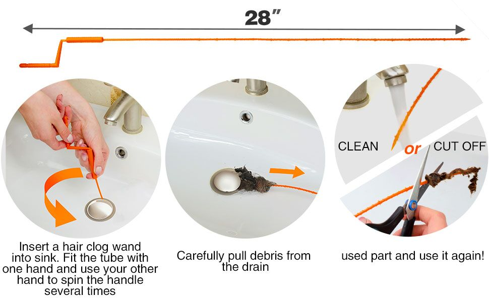 features of drain snake x-protector