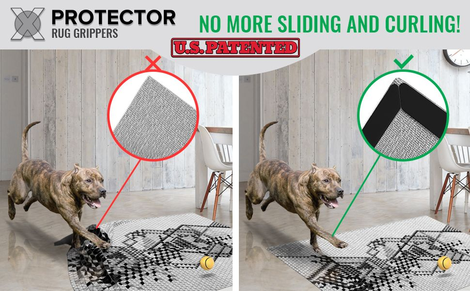 x-protected rug grippers