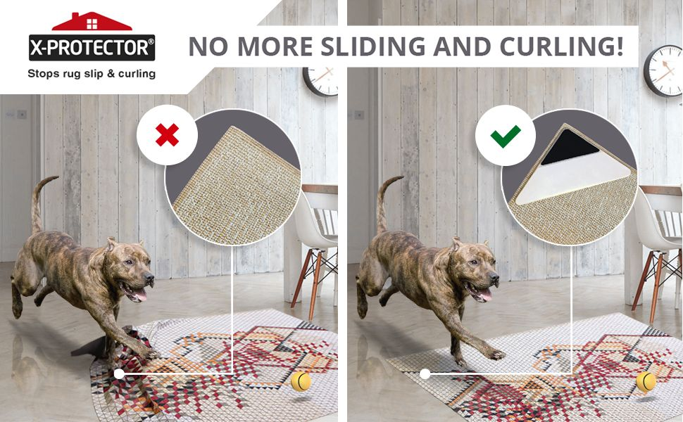 no sliding rug grippers