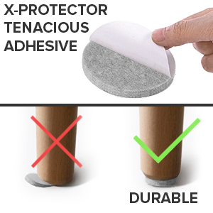 x-protector furniture felt pads
