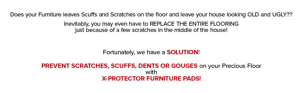 x-protector furniture pads