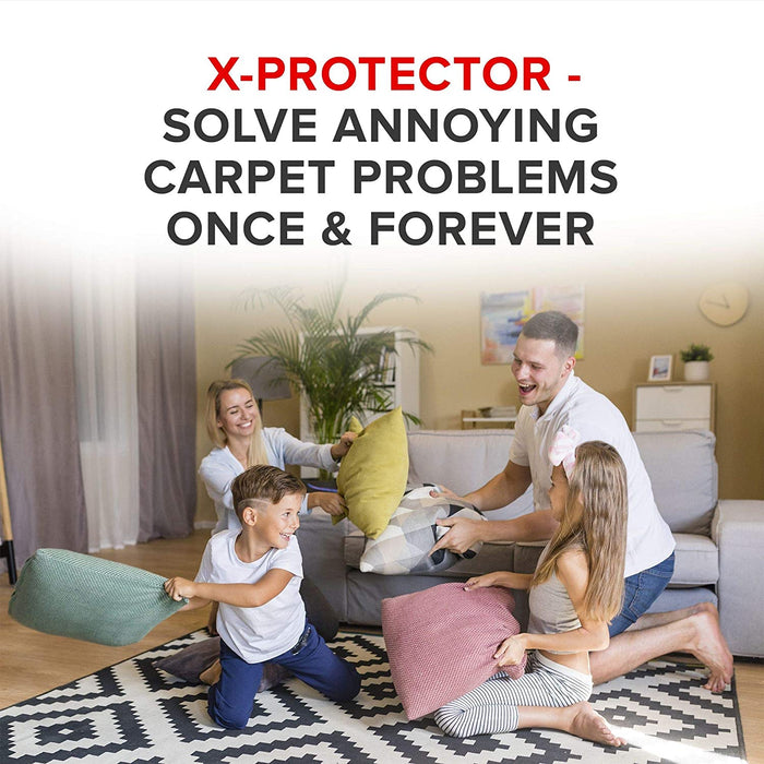 x-protector rug gripper for carpet