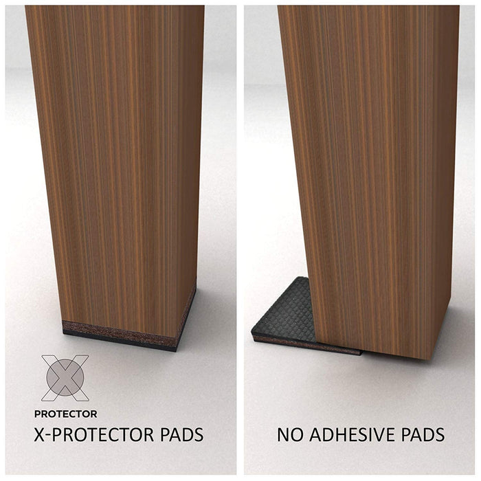 "NON SLIP FURNITURE PADS 16 PCS 2"" X-PROTECTOR  - Ideal Non Skid Furniture Pads to Fix the Furniture in place!"
