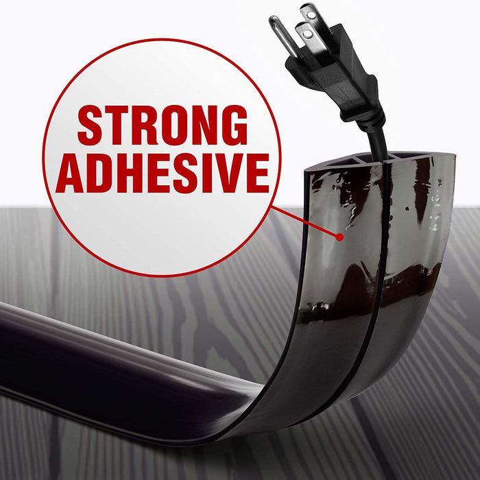 adhesive floor cord cover