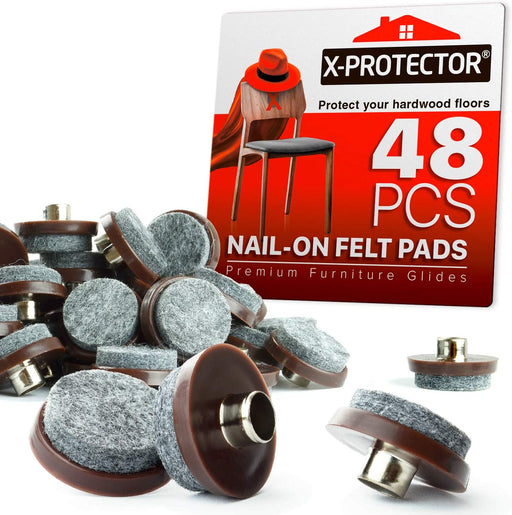 nail on felt pads x-protector 48 pcs