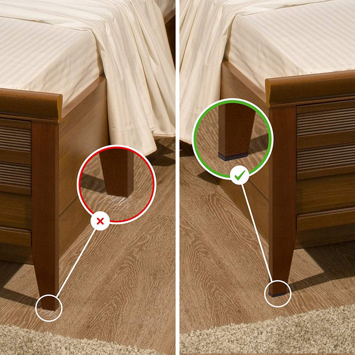 keep bed from sliding