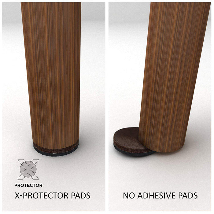 "Non Slip Furniture Grippers X-PROTECTOR 8 PCS 2"" – Ideal Non Skid Furniture Floor Protectors to fix the Furniture in Place! - X-Protector"