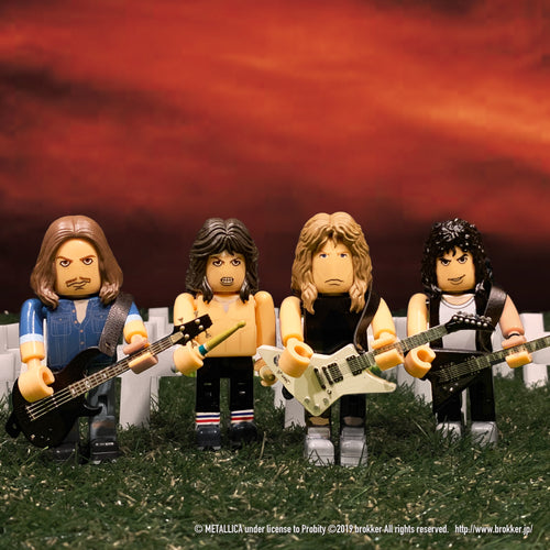 brokker / METALLICA - Block Figure Toys for Musician