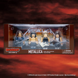 brokker / METALLICA - Block Figure Toys for Musician [BW-004]