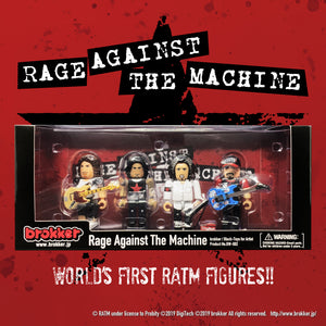 brokker / Rage Against The Machine - Block Figure Toys for Musician